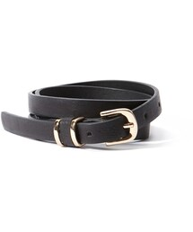 Forever 21「FOREVER 21+ Skinny Faux Leather Belt(Belt)」