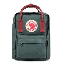 Fjallraven Kanken(フェールラーベンカンケン)の「Forest Green-Ox Red Kanken Mini Backpack(その他)」