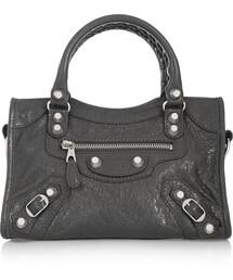 Balenciaga「Balenciaga City Mini Textured-Leather Shoulder Bag(Handbag)」