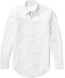 Thom Browne「Thom Browne Button-Down Collar Cotton Oxford Shirt(Shirts)」