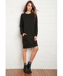 Forever 21「FOREVER 21 Raglan Sweater Dress(One piece dress)」