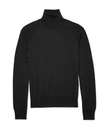 Jil Sander(ジルサンダー)の「Rollneck Wool and Silk-Blend Sweater(その他)」