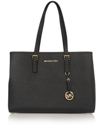 MICHAEL Michael Kors「MICHAEL Michael Kors Jet Set Travel Textured-Leather Tote Michael Michael Kors(Tote)」