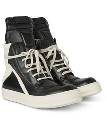 Rick Owens「Rick Owens Panelled Leather High-Top Sneakers(Sneakers)」