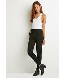 Forever 21「FOREVER 21 Contrast-Paneled Joggers(Pants)」