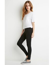 Forever 21「FOREVER 21 Organic Cotton-Blend Leggings(Leggings)」