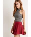 Forever 21 | FOREVER 21 Ribbed Skater Skirt(スカート)