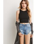 Forever 21「FOREVER 21 Ribbed Knit Tank(Tank tops)」