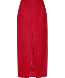 Carven「Carven Virgin Wool-Blend Midi Skirt(Skirt)」
