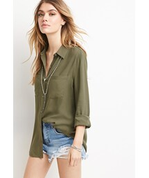 Forever 21「FOREVER 21 Classic Collared Shirt(Shirts)」
