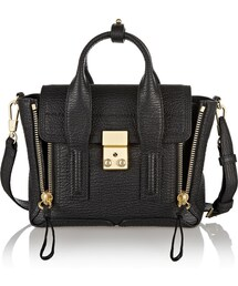 3.1 Phillip Lim「3.1 Phillip Lim The Pashli Mini Textured-Leather Trapeze Bag(Handbag)」