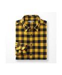 ユニクロ | MEN フランネルチェックシャツ(レギュラーカラー・長袖)(シャツ・ブラウス)