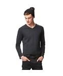 ユニクロ | MEN ソフトタッチVネックT(長袖)+E(T Shirts)