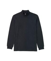 ユニクロ(ユニクロ)の「MEN ソフトタッチハイネックT(長袖)(Tシャツ・カットソー)」