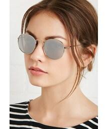 Forever 21「FOREVER 21 Mirrored Round Sunglasses(Sunglasses)」