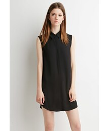 Forever 21「FOREVER 21 Collared Shift Dress(One piece dress)」