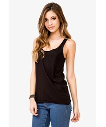Forever 21「FOREVER 21 Relaxed Fit Racerback Tank(Tank tops)」