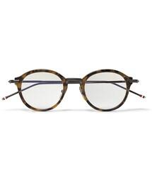 Thom Browne「Thom Browne Tortoiseshell Round-Frame Optical Glasses(Glasses)」