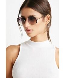Forever 21「FOREVER 21 Round Frame Sunglasses(Sunglasses)」