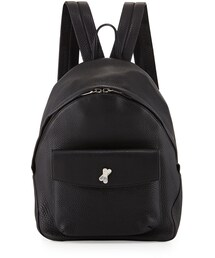 Alexander Wang(アレキサンダーワン)の「Alexander Wang Icon Pebbled Leather Backpack, Black(バックパック/リュック)」