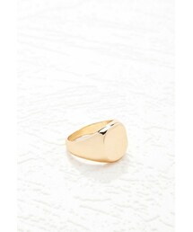 Forever 21「FOREVER 21 Flat-Circle Cocktail Ring(Ring)」