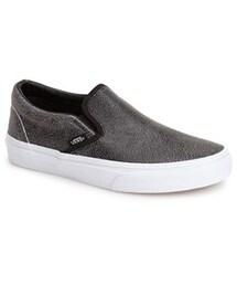 Vans「Vans 'Classic - Cracked' Slip-On Sneaker (Women)(Sneakers)」