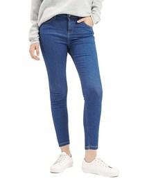 Topshop「Topshop Moto 'Jamie' High Rise Skinny Jeans (Indigo) (Petite)(Denim pants)」