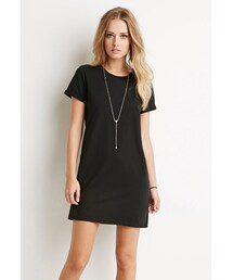 Forever 21「FOREVER 21 Cotton T-Shirt Dress(One piece dress)」