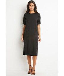 Forever 21「FOREVER 21 Two-Pocket Midi Dress(One piece dress)」