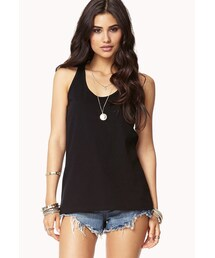 Forever 21「FOREVER 21 No-Fuss Racerback Tank(Tank tops)」
