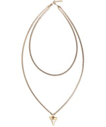 Givenchy「Givenchy Small Shark Tooth Double-Strand Necklace(Necklace)」