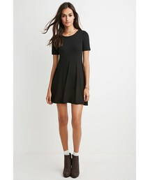 Forever 21「FOREVER 21 Classic Fit & Flare Dress(One piece dress)」