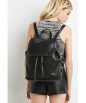 Forever 21 | FOREVER 21 Faux Leather Chained Backpack(バックパック/リュック)