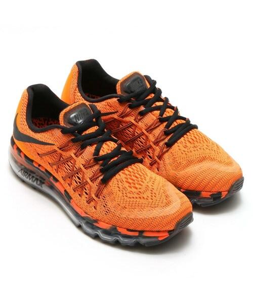 Nike Air Max 2015 Orange And Black