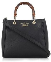 Gucci「Gucci Bamboo mini leather cross-body bag(Shoulderbag)」