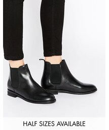 Asos「ASOS COLLECTION ASOS AIRBOUND Leather Chelsea Ankle Boots(Boots)」