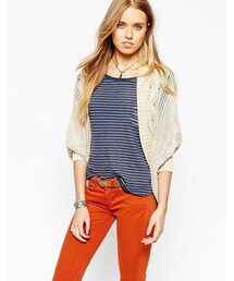 Pepe Jeans「Pepe Jeans Relaxed Cable Knit Cardigan(Cardigan)」