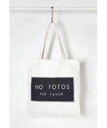 Forever 21「FOREVER 21 No Fotos Graphic Canvas Tote(Backpack)」