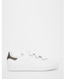 adidas「adidas Originals Stan Smith with Faux Snakeskin Velcro Sneakers(Sneakers)」