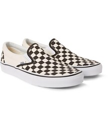Vans(バンズ)の「Classic Checkerboard Canvas Slip-On Sneakers(シューズ)」
