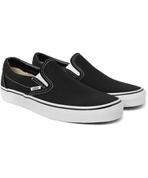 Vans「Classic Canvas Slip-On Sneakers(Shoes)」