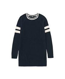 ユニクロ(ユニクロ)の「WOMEN コットンカシミヤラインロングセーター(長袖)(ニット・セーター)」