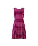 ユニクロ「WOMEN フレアボーダーワンピース(ノースリーブ)(One piece dress)」