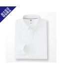 ユニクロ | MEN オックスフォードスリムフィットシャツ(長袖)+E(シャツ・ブラウス)
