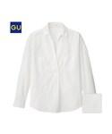 GU | (GU)ボーイフレンドプルオーバー(長袖)(WOMEN⁄シャツ・ブラウス)