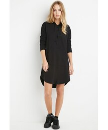 Forever 21「FOREVER 21 Hooded Sweatshirt Dress(One piece dress)」