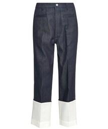 Loewe「Loewe Turn-up hem straight-leg jeans(Denim pants)」