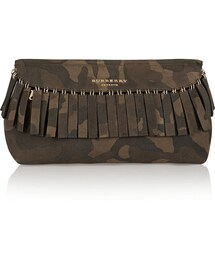 Burberry「Fringed Camouflage Suede Clutch Burberry Prorsum(Clutch)」