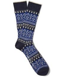 White Mountaineering「White Mountaineering Fair Isle Knit Socks(Socks)」
