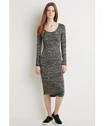 Forever 21「FOREVER 21 Marled Midi Dress(One piece dress)」